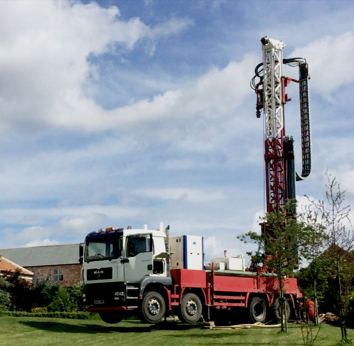 Borehole drilling in Yorkshire and the North of England